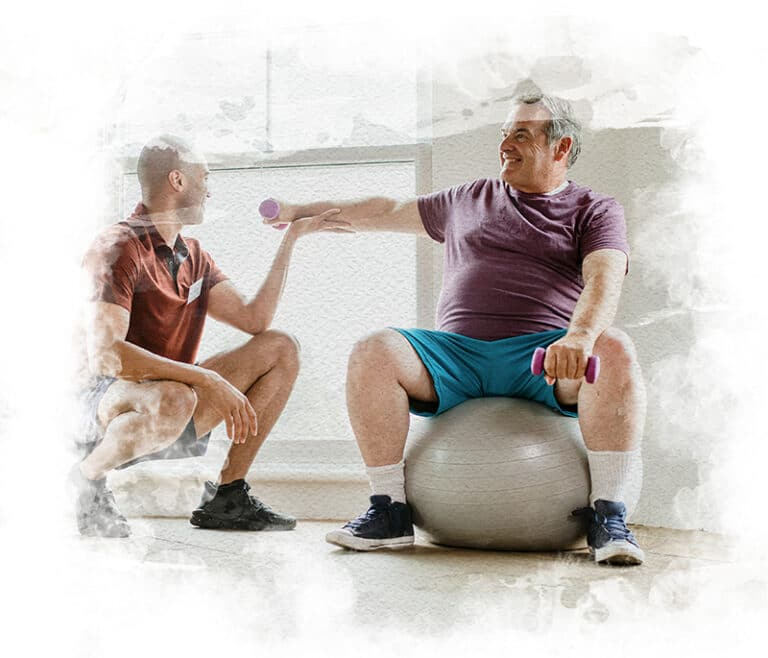 Physical Therapy at Home - Therapy Ball